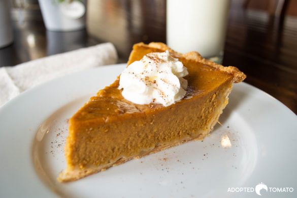 Drunken Pumpkin Pie